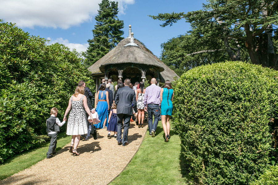Swiss Garden Wedding Biggleswade